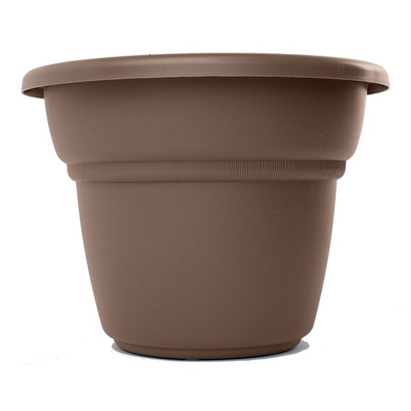 Milano Plastic Pot Planter by Bloem