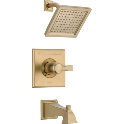 Shower Faucet Tub Trim Bronze photo