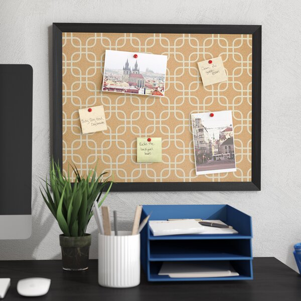Wall Mounted Bulletin Board by Zipcode Design