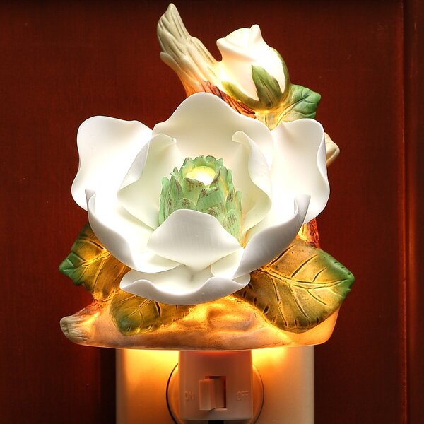 Magnolia Night Light by Cosmos Gifts