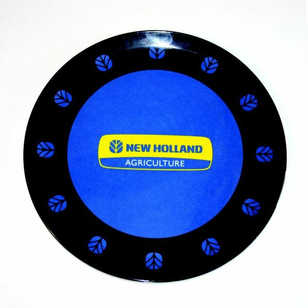 New Holland Melamine Plate by MotorHead Products