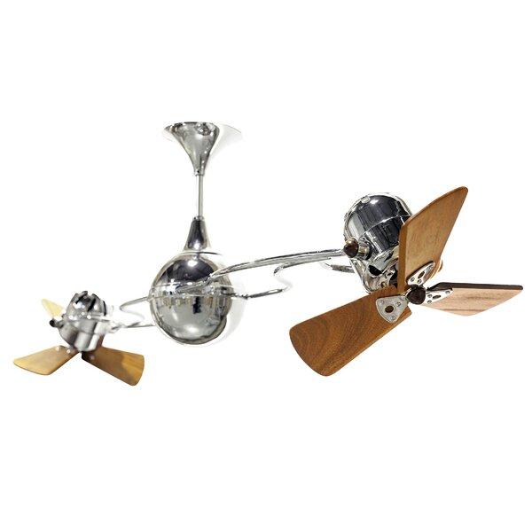 53 Italo Ventania 3 Blade Ceiling Fan by Matthews Fan Company