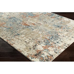 Mckeever Abstract Taupe Area Rug by Williston Forge