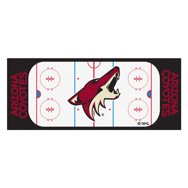 NHL - Arizona Coyotes Rink Runner Doormat by FANMATS