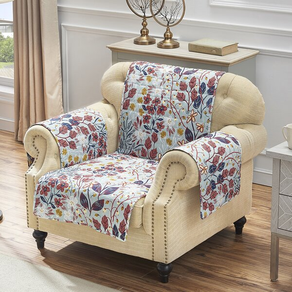 T-Cushion Armchair Slipcover By August Grove