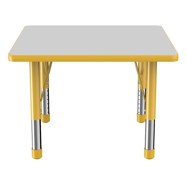 Thermo-Fused Adjustable 30 Square Activity Table by ECR4kids