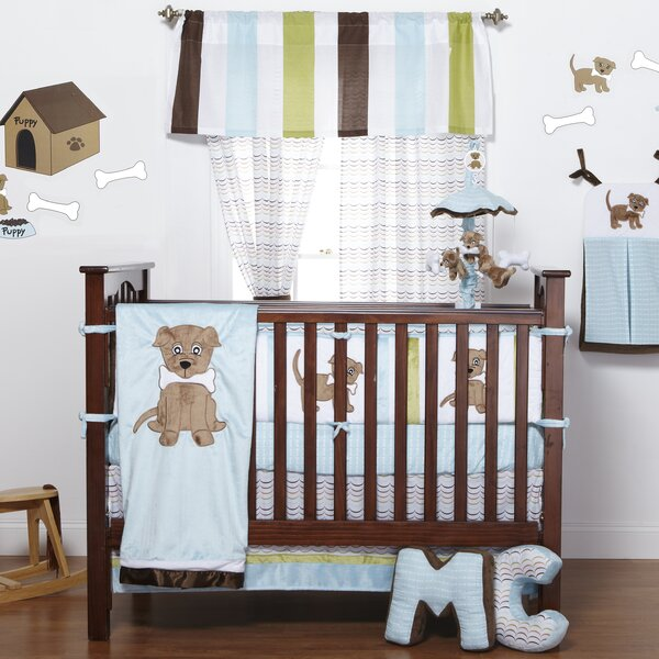 Ferndown Puppy Crib Bedding Set by Zoomie Kids