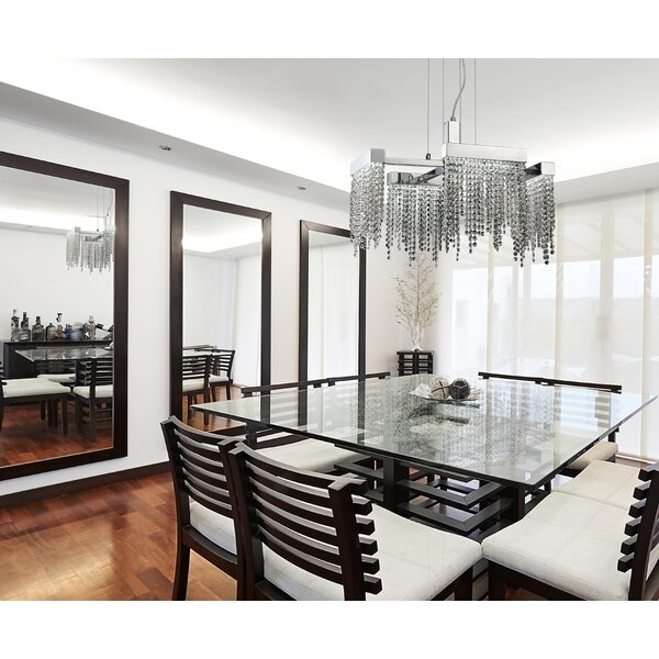 Kapila 4 - Light Unique / Statement Geometric Chandelier By Orren Ellis