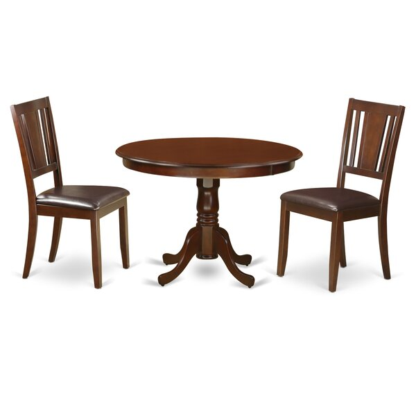 Artin 3 Piece Dining Set by Andover Mills Andover Mills