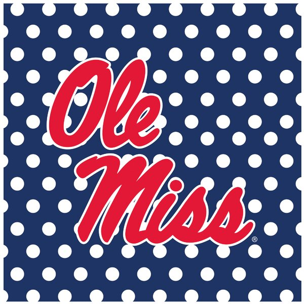 University of Mississippi Square Occasions Trivet by Thirstystone