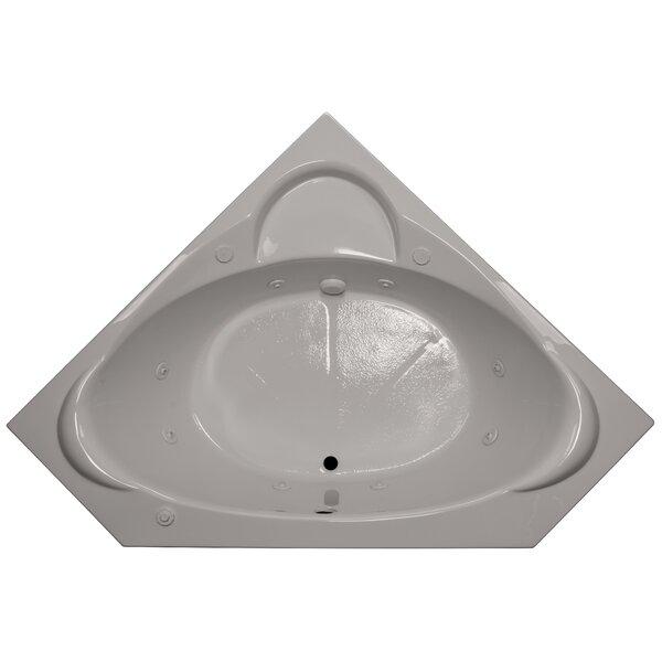 60 x 60 Corner Whirlpool Tub by American Acrylic