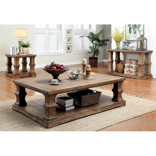 Powersville 3 Piece Coffee Table Set by Loon Peak Loon Peak