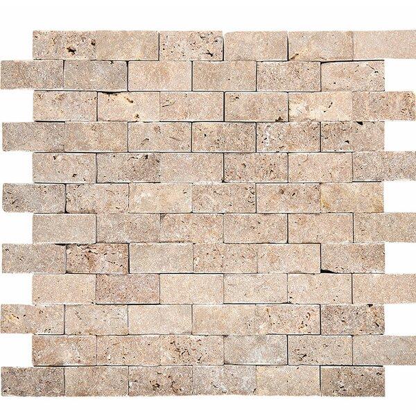 0.53 x 12 Stone Splitface Tile in Noce by Parvatile