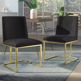 Best Seppich Upholstered Dining Chair (Set of 2) Reviews