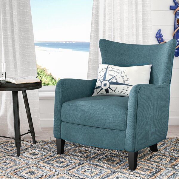 Nisha Fabric Club Chair by Beachcrest Home
