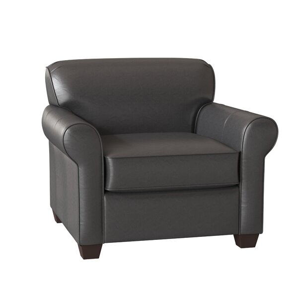 Jennifer Leather Club Chair By Wayfair Custom Upholstery™