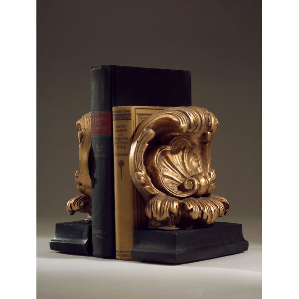 Acanthus Book Ends (Set of 2) by Hickory Manor Hou