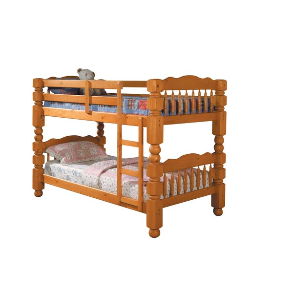 Rayna Twin Bunk Bed with Drawers by Harriet Bee
