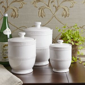 White Kitchen Canisters & Jars You\'ll Love | Wayfair