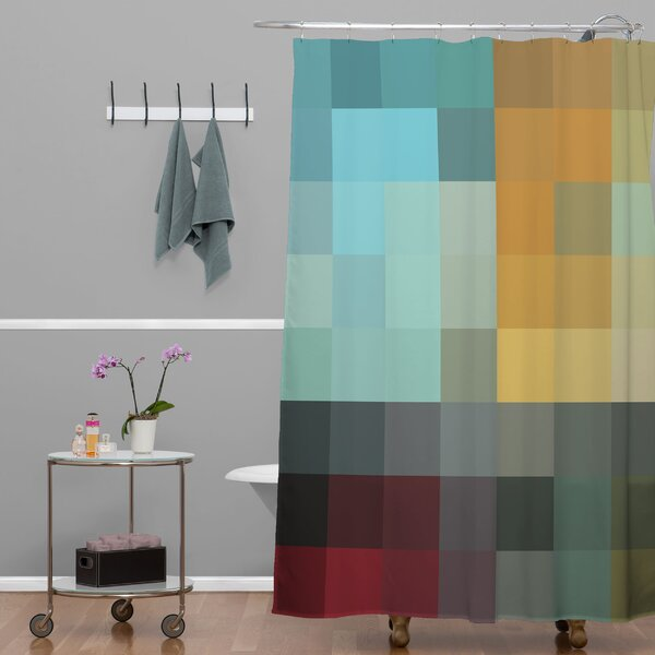 Madart Inc. Refreshing 2 Extra Long Shower Curtain by Deny Designs