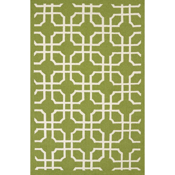 Atrium Handmade Green Indoor/Outdoor Area Rug by United Weavers of America