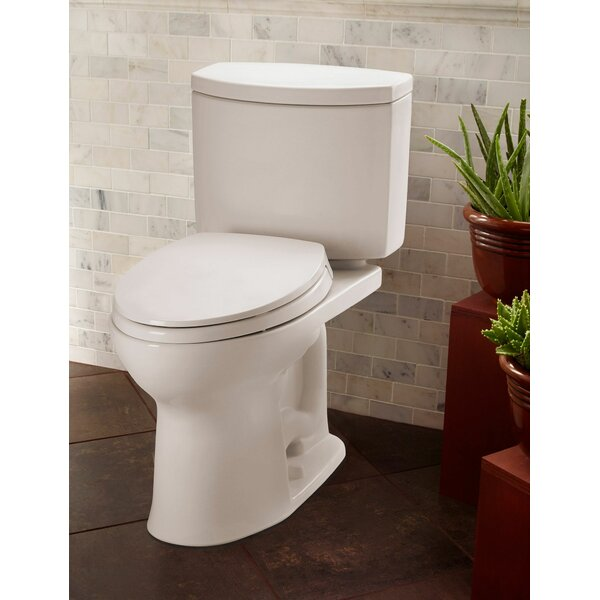 Drake 1.0 GPF Elongated Two-Piece Toilet by Toto