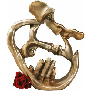 Lover's Kiss Contemporary Figurine
