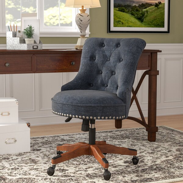 Maria Mid-Back Desk Chair by Alcott Hill