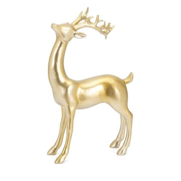 Reindeer Figurine by Alcott Hill