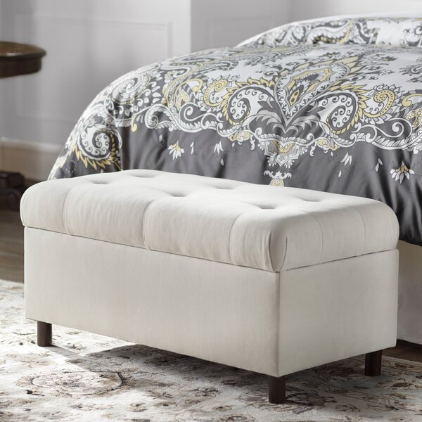 Mccree Upholstered Storage Bench by Alcott Hill