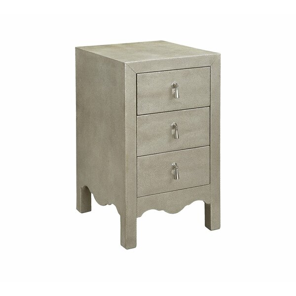 Milla 3 Drawer Accent Chest By Rosdorf Park