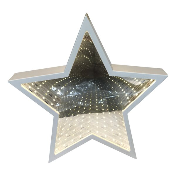 Battery-Operated Star Tunnel Table Lamp by Zoomie Kids