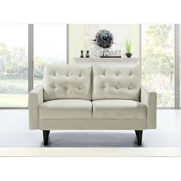 Seligman Loveseat By Everly Quinn
