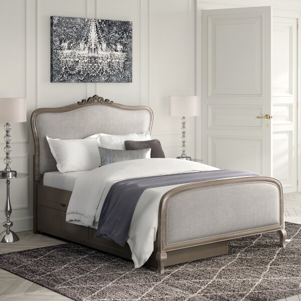 Burks Full Panel Bed with Trundle by Kitsco