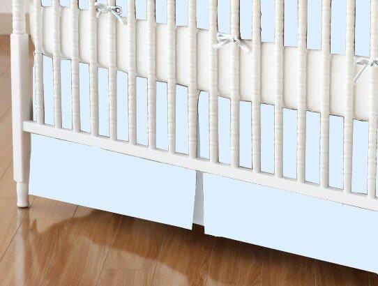 Jersey Knit Crib Skirt by Sheetworld