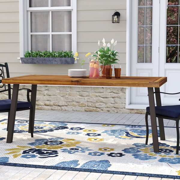 Isidore Solid Wood Dining Table by Darby Home Co