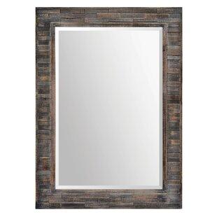 17 Stories Framed Rectangular Wall Mirror