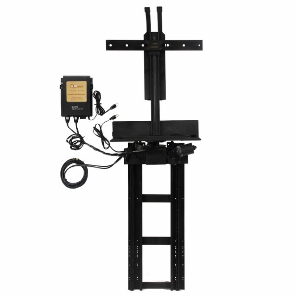 TV Swivel Lift Mechanism Pole Mount for 13- 30.5 T