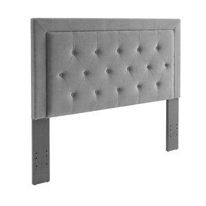 Birute Upholstered Panel Headboard by World Menagerie