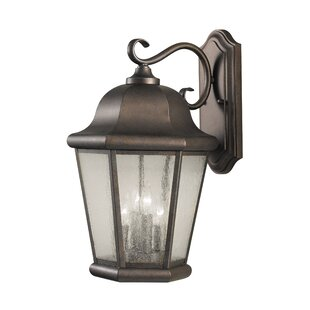 Reviews Hereford 4-Light Outdoor Wall Lantern By Darby Home Co