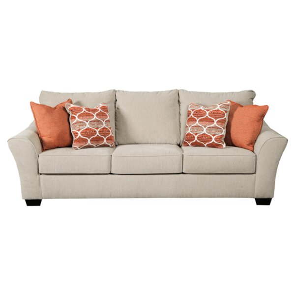 Pauline Nuvella Sofa by Rosecliff Heights