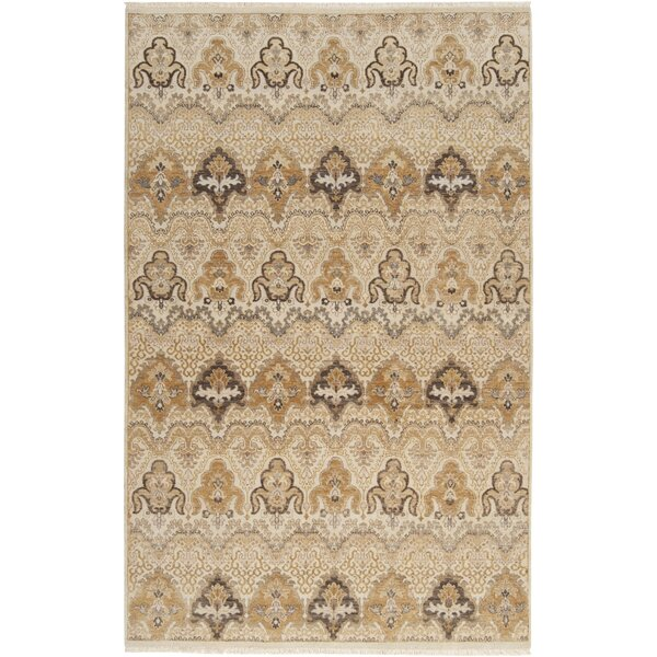Cady Tan Area Rug by Bloomsbury Market