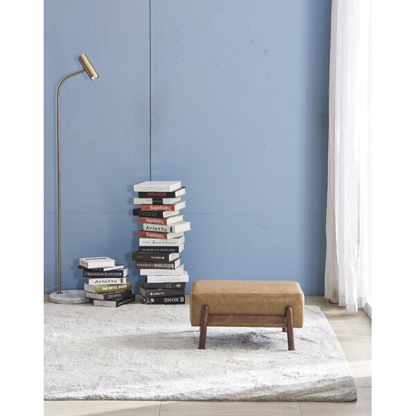 Chee Faux Leather Bench by Union Rustic