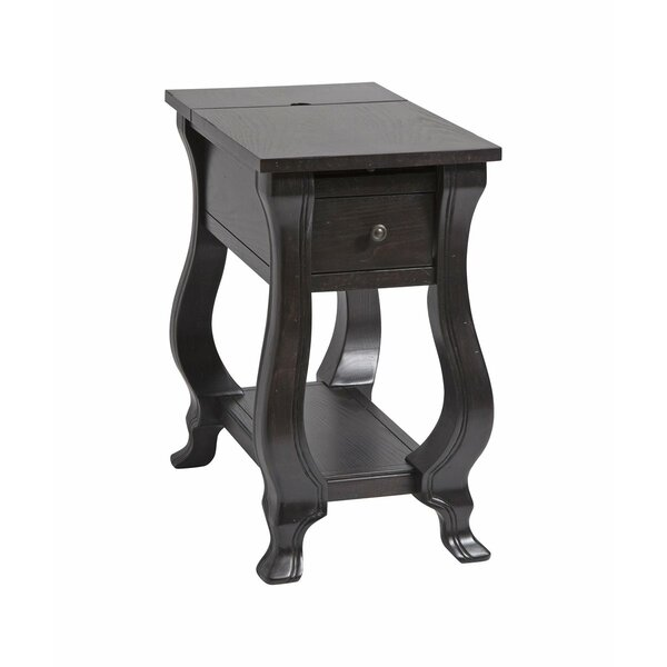 Finlay End Table With Storage By Canora Grey