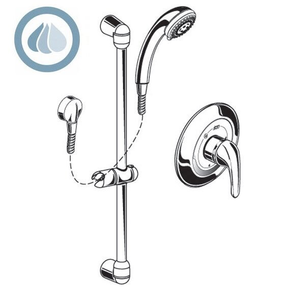 FloWise Shower Faucet by American Standard