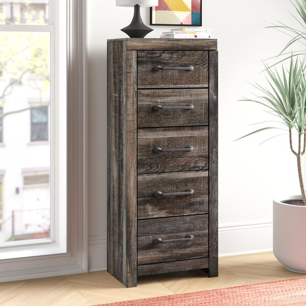 Cali Narrow 5 Drawer Chest by Foundstone