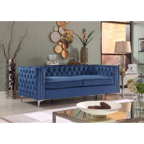 Marlon Chesterfield Sofa by Rosdorf Park