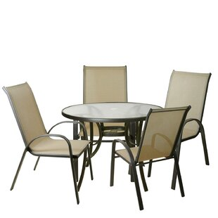 Elane 5 Piece Outdoor Patio Dining Set By Red Barrel Studio