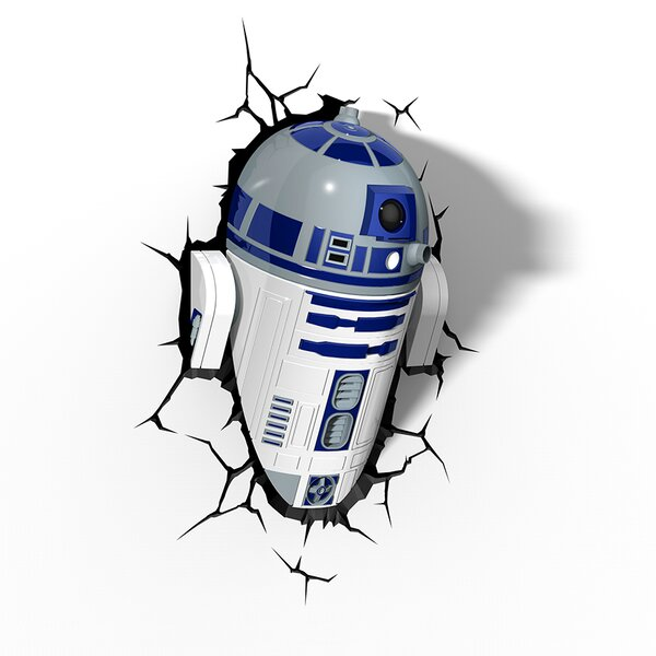 3D EP.7 Star Wars R2-D2 Deco 2-Light Night Light by 3D Light FX