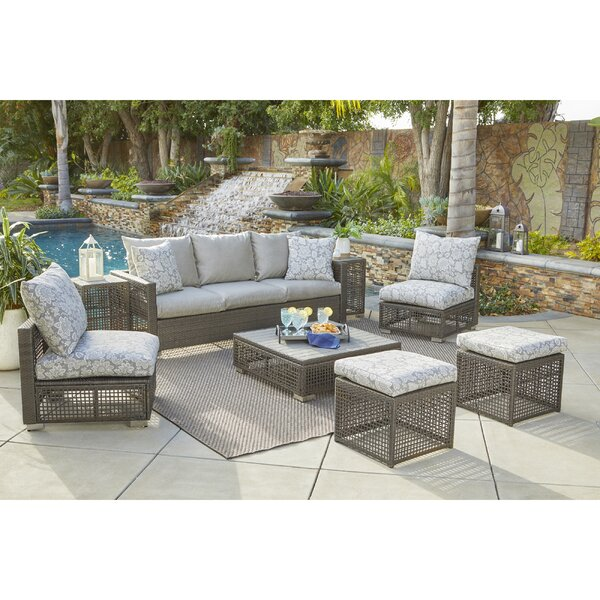 Sarver 8 Piece Sofa Set with Cushions by Ivy Bronx